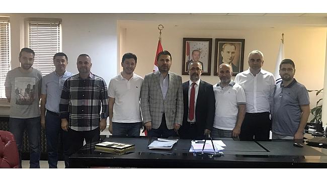 """MÜSİAD'tan Rektör Savaşan'a """"Hayırlı Olsun"""" Ziyareti"""