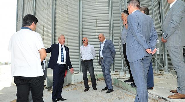 Sarı'dan Konya Ticaret Borsa'sına Ziyaret