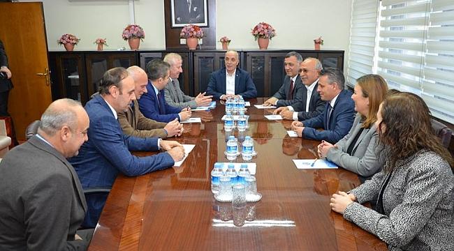Sakarya Ticaret Borsası Heyeti'nden Ankara Çıkarması