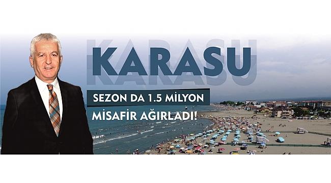 KARASU SEZON DA 1.5 MİLYON MİSAFİR AĞIRLADI!