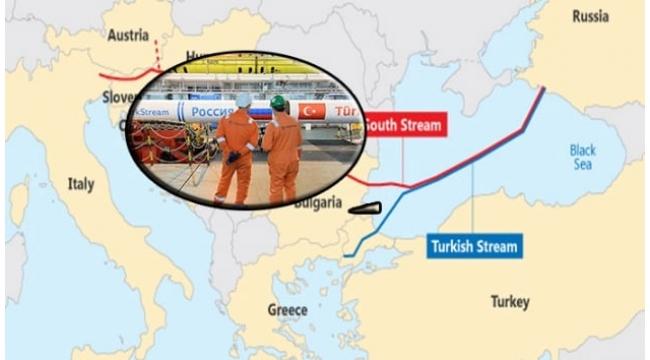 Gazprom, TürkAkım Doğalgaz Boru Hattı Birleşti