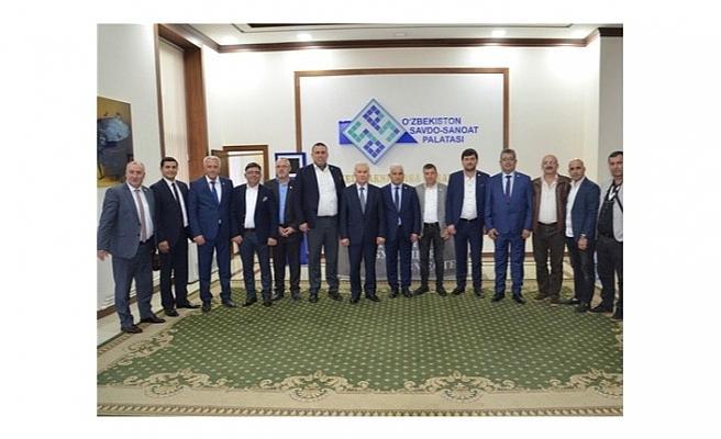 SATSO Heyeti Özbekistan'In Yatırım Fırsatlarını İnceledi