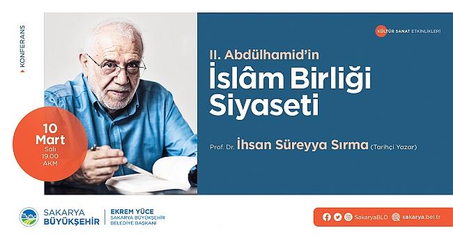 İhsan Süreyya Sırma AKM'de konferansa katılacak